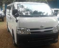 2012 Toyota Regius, automatic 3.0L turbo diesel, New import