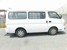 Nissan caravan long chassis brand new car