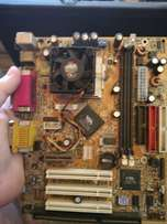 motherboard and cpu