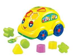 2in1 shape sorter and tag along car
