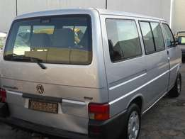 2005 VOLKSWAGEN CARAVELLE T4 205 TDI MANUAL Breaking for Spares.