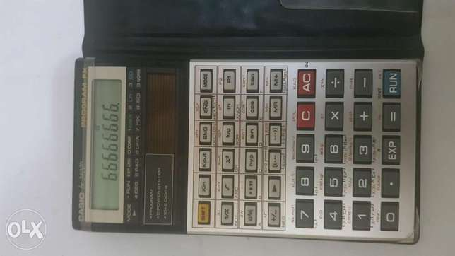 Casio fx3400p programable calulator