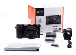 Sony - Alpha a6000 Mirrorless Camera with 16-50mm Retractable Lens