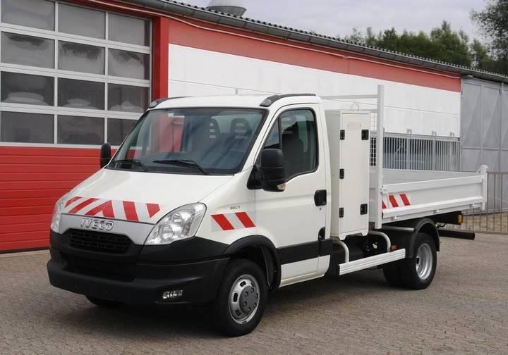 Iveco Daily 35c11 Kipper Werkzeugkasten Klima Ahk E5 Tüv - 2012