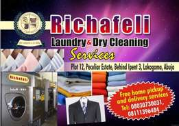 Richafeli laundry and dry cleaning services