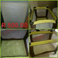 Camping Cot & Baby Carrier