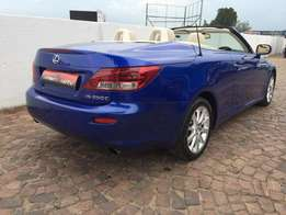 2010 lexus is 250c auto with only 58000 kms
