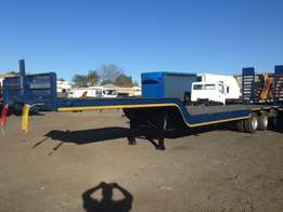 New 14.2m tri axle lowbed trailer (light duty)