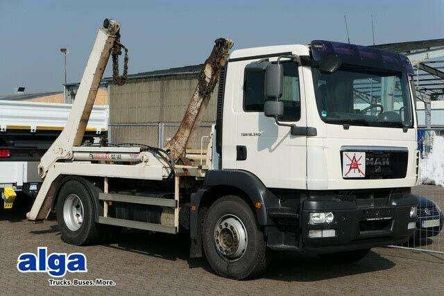 MAN 18.340 Tgs, Multilift, Ahk, Klima. - 2009