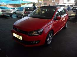2014 Red VW Polo-6 1,4 Comfortline