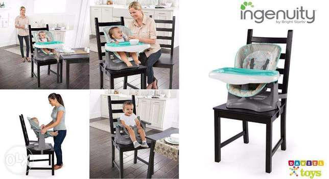 Ingenuity ChairMate High Chair - Benson for only 70$