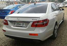 E 350 4matic Limited 2012 model