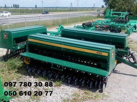 John Deere Сеялка зерновая механическая Джон Дир-10,7 м. ()