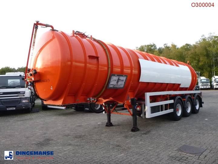 Crossland Vacuum tank alu 33 m3 / 1 comp + pump - 2004