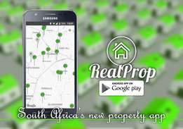 new South African property app - RealProp