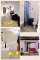 For Rent 1 Bedroom cottage including water with prepaid electricity.