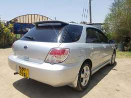 subaru impreza 1500cc yom 2006,very clean car,accident free asking 630