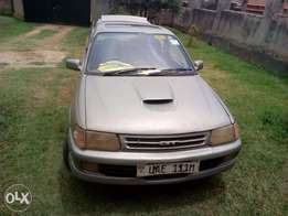 Toyota GT sports starlet on quick sale, manual buy drive straight away