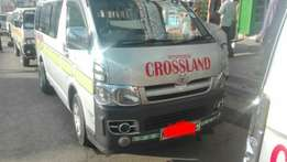 Toyota Hiace KBX Matatu for Sale