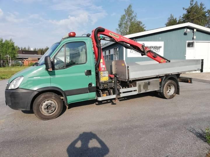 Iveco Daily 65 C 14 Palfinger 5000 Rahtilava Kipillä - 2011