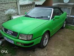 audi B500 v6 manual cabriolet good cond 10k neg as is