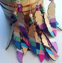 Wooden Feathers (5 in Pack) - Pinterest In Your Home