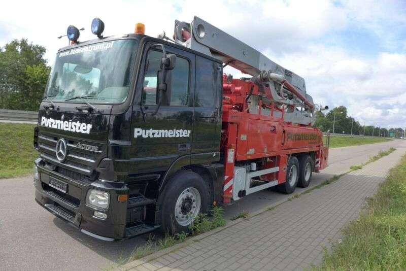 Mercedes-Benz 2641 6x4 Putzmeister 31 / 5 Tunnel - Hallen