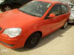 Volkswagen polo Red kCp