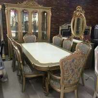 Royal executive buffet dining table for 8 man