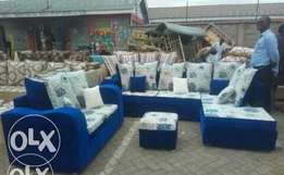 Riot L shaped sofa plus a side two seater