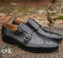 Italian Monk Double Strap Brogues.