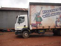 DAF LF 15t curtain side for sale