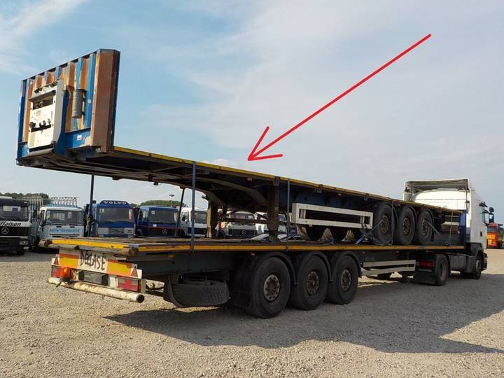 Kögel  BPW-AXLES / BELGIAN TRAILER - 2002