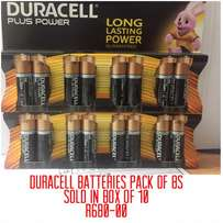 Duracell batteries AA 8s
