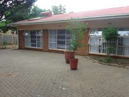 7 Bedroom House for conversion to Geusthouse or Office Premises.