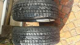 "2 X 235/50/18""tyres R500each"
