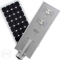 Clear New Design Solar Light All In One 60w