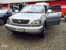 Toyota Harrier Old Model 2400cc New tires on quick sell