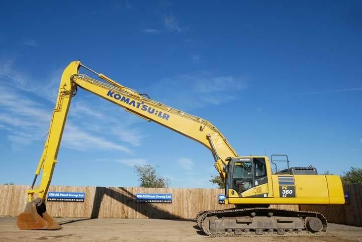 Komatsu Pc360lc-10 Slf 18m Long/river Reach Excavator - 2013