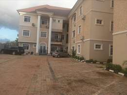 Serviced and partly furnished 2bedroom flat to let at St Mary's Kaura.
