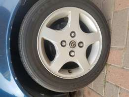 Selling rims and tyres 14""
