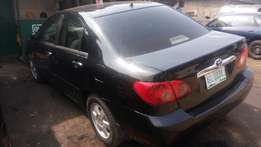 Registered Toyota corolla 2004 model well used super clean