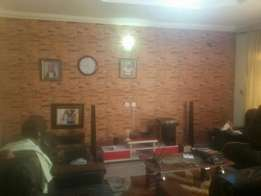 Bricks wall paper available now. Fracan Wallpaper Abuja