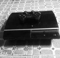 PS3 game console with wireless pad