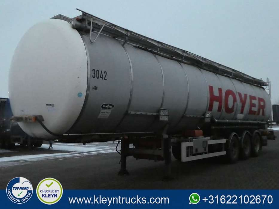Van Hool CHEMICAL 55.000 LTR 3 compartments - 2004
