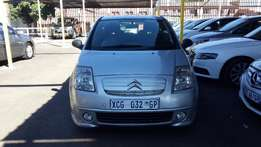 2008 Sliver Citroen C2 1,4 for sale