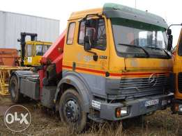 Mercedes-Benz 1827 + Palfinger PK17500 - To be Imported
