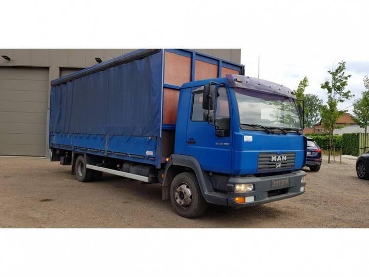 MAN box / koffer truck - 2000