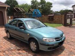 Nissan Almera in a very good condition for sale