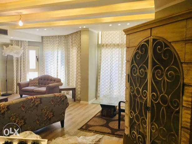 Lovely furnished flat in front &view Kattameya hights